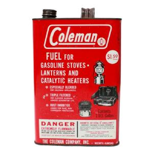 【Used】 COLEMAN FUEL CAN