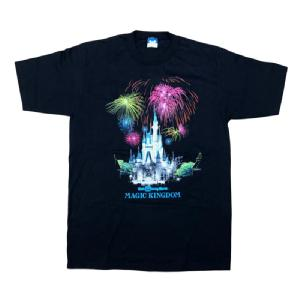 【Used】 OLD TEE DISNEY MAGIC KINGDOM
