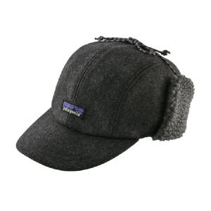 【Patagonia】 Recycle Wool Year flap Cap