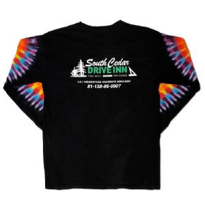 South Cedar DRIVE INN Original Tie-dye L/S Tee