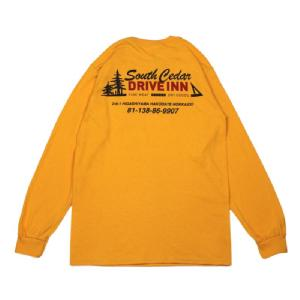 South Cedar DRIVE INN Original L/S Tee