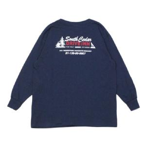 South Cedar DRIVE INN Original L/S Tee 【KIDS】